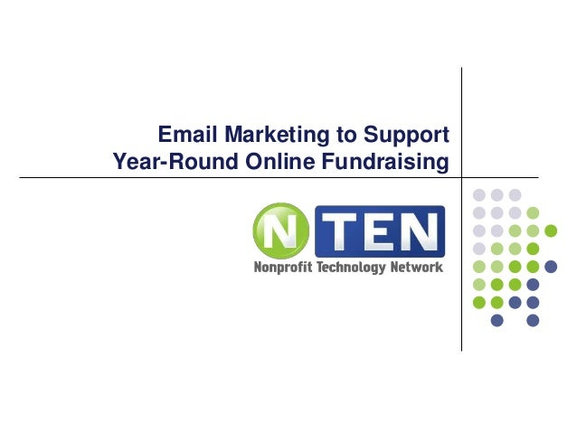 Email Marketing to Support Year-Round Online Fundraising