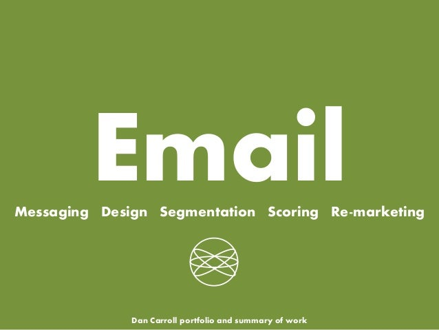 Professional Email Marketing Portfolio with Examples and Best Case Uses