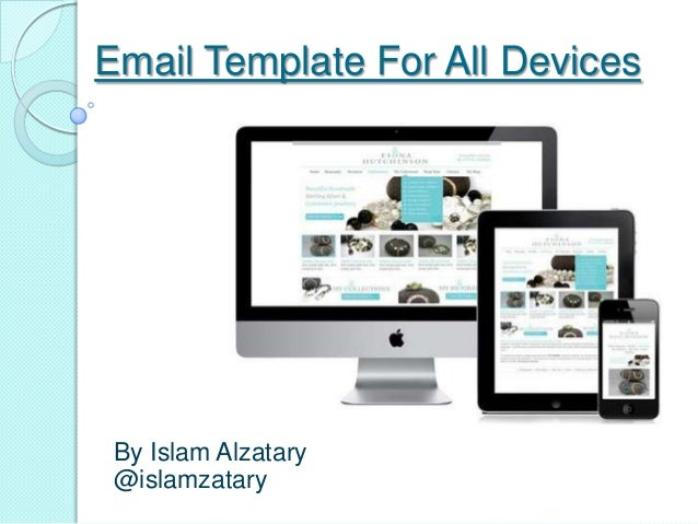 Email Template For All Devices By Islam Alzatary @islamzatary