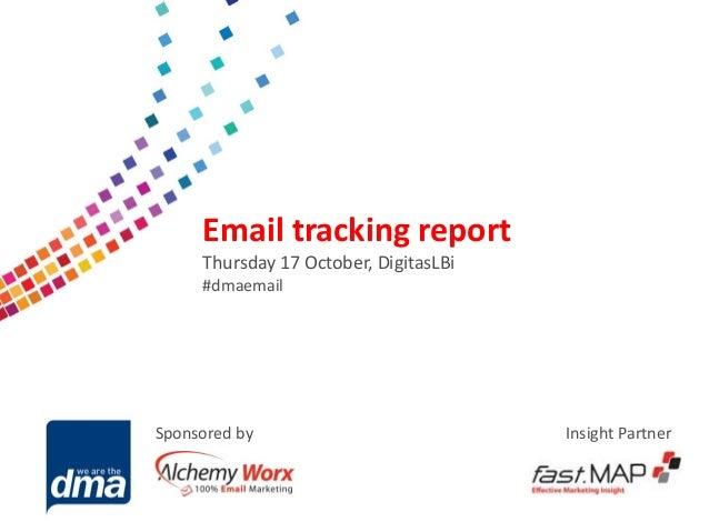 Email tracking report 2013   17 october