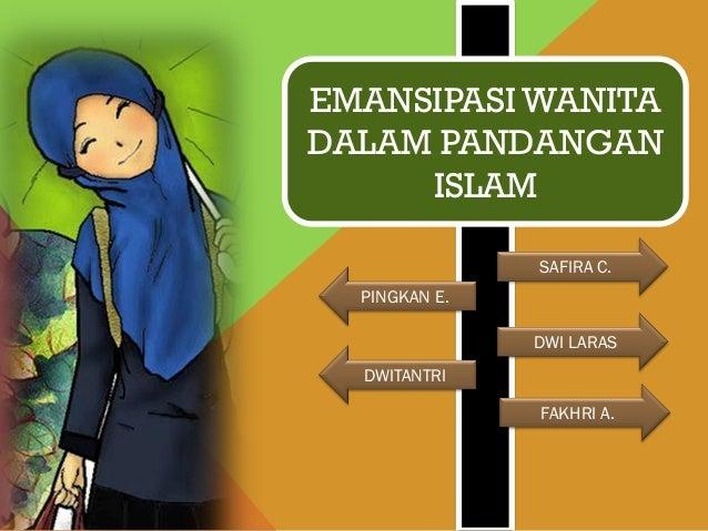 Emansipasi wanita dalam pandangan islam