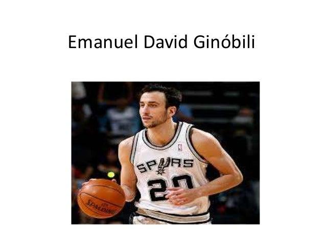 Emanuel David Ginóbili