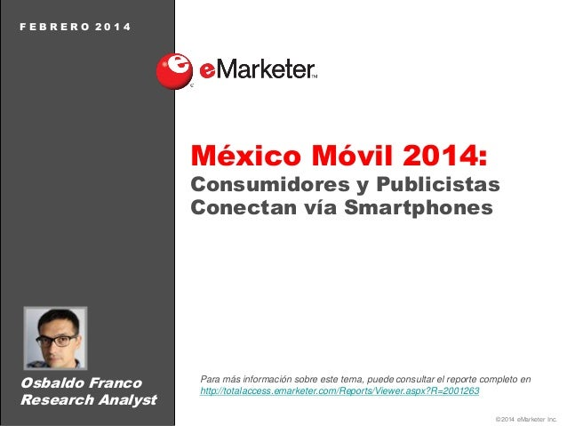 Emarketer: México Móvil 2014