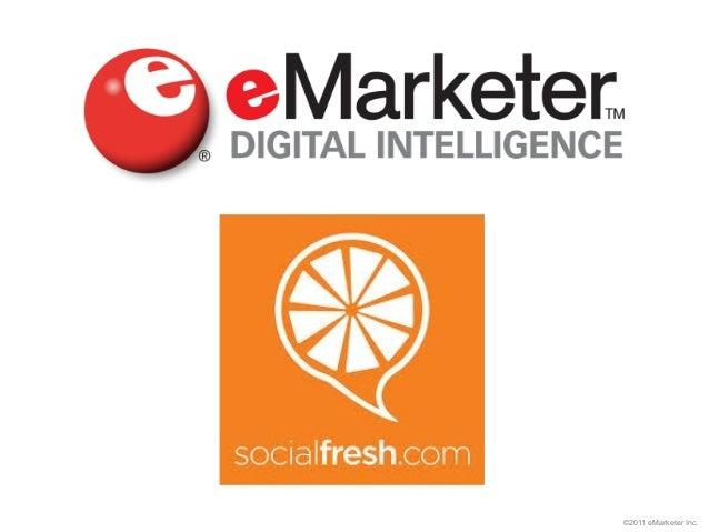©2011 eMarketer Inc.
