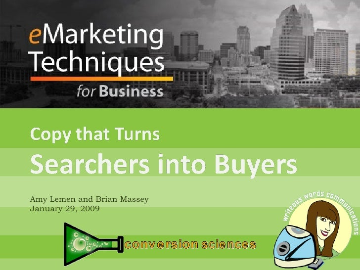 Copy That Turns Searchers into Buyers
