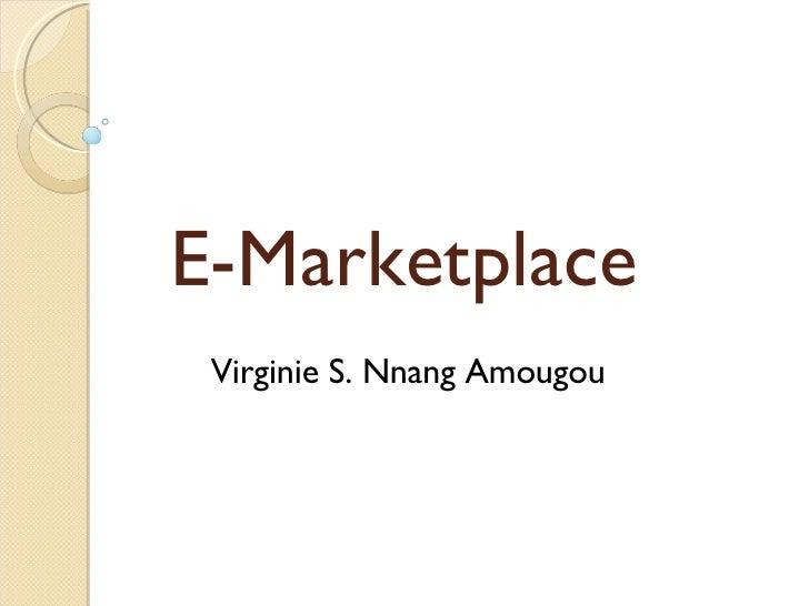 eMarketplace