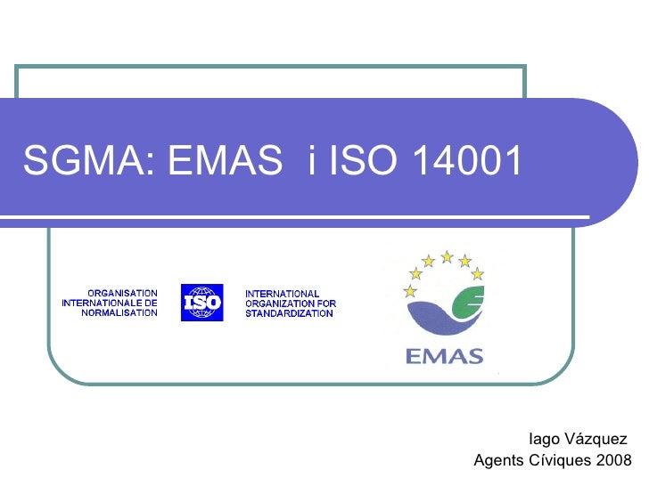 Emas Iso 14001