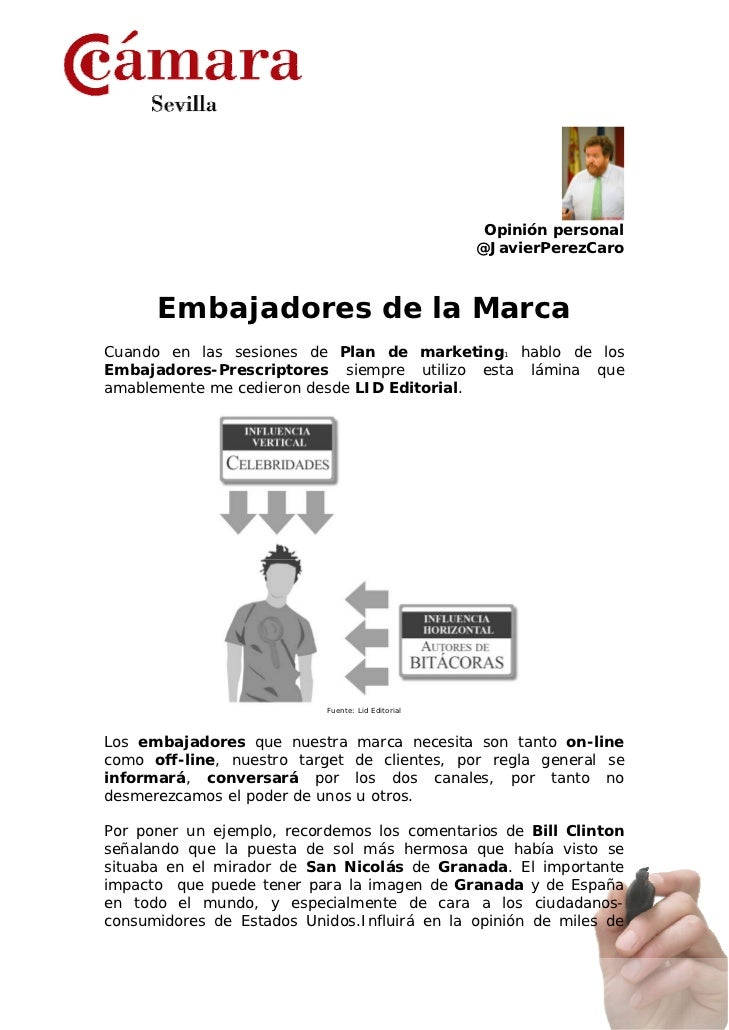 Embajadores de la Marca
