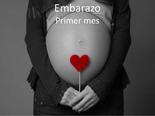 EmbarazoPrimer mes