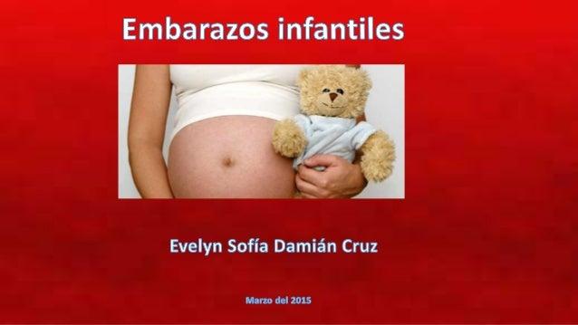 • Todos los días, casi tres mujeres menores de 19 años tienen un hijo, y una vez por semana una niña de 14 años o menos, d...