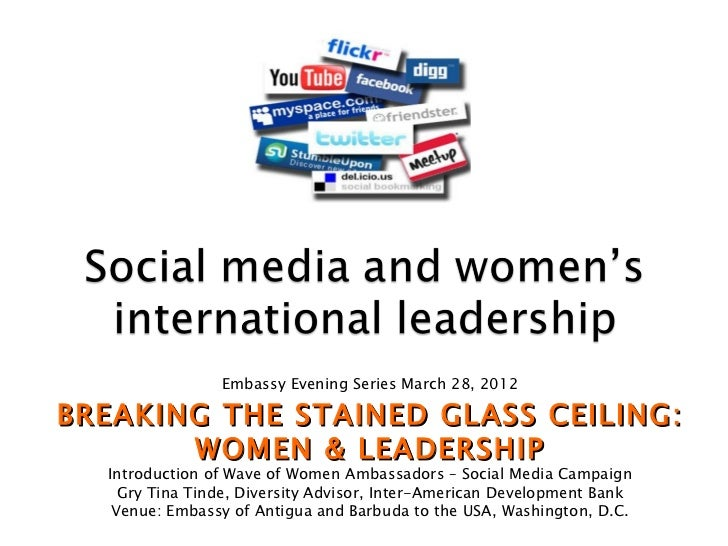 Embassy Evening Series March 28, 2012BREAKING THE STAINED GLASS CEILING:       WOMEN & LEADERSHIP  Introduction of Wave of...