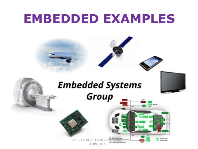 applications of embedded systems pdf