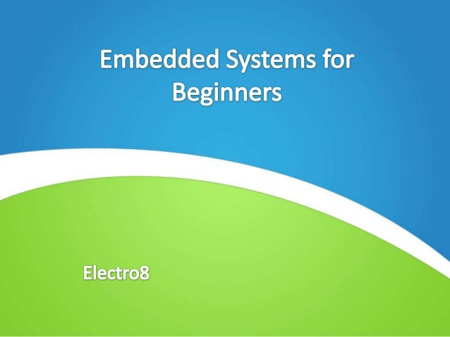• Session objectives • Computing systems overview • Embedded Systems!! .. What does it mean ?? • Microprocessors and Micro...