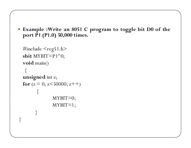 embedded c programming with 8051 pdf