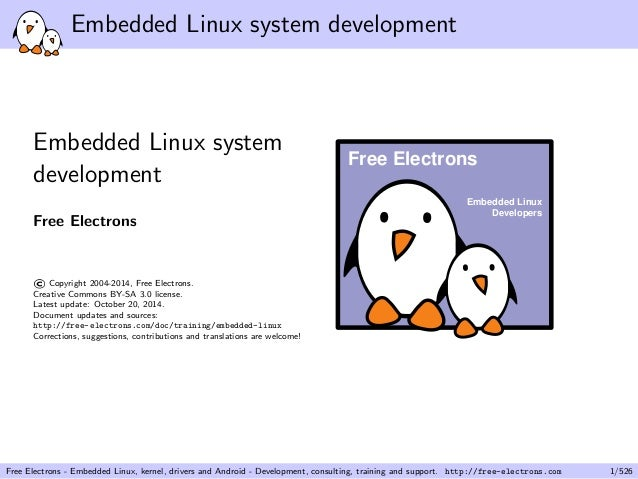 Building Embedded Linux Systems: Concepts, Techniques
