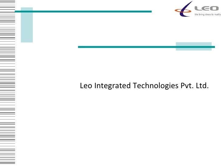 Leo Integrated Technologies Pvt. Ltd.