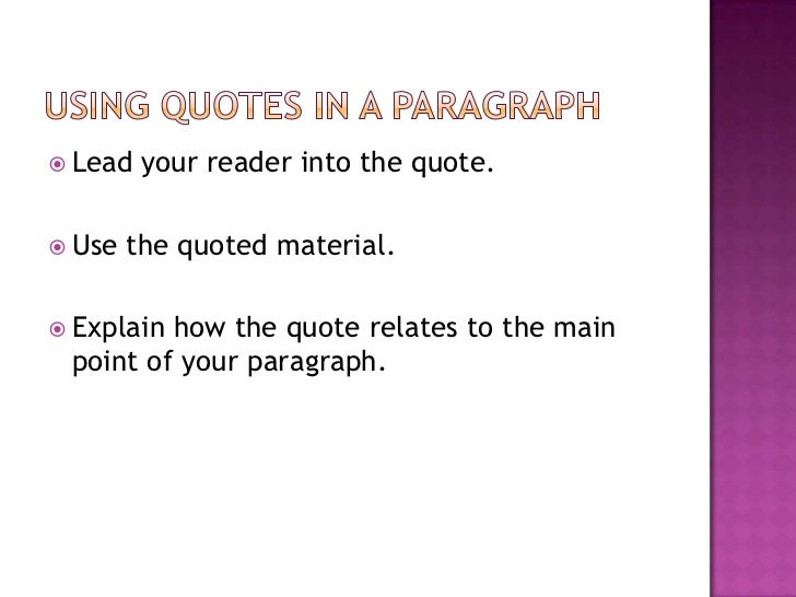 punctuation for quotes in essays Spanish uses three types of punctuation to mark quotations including angular  quotation marks and long (em) dashes, which aren't used in.