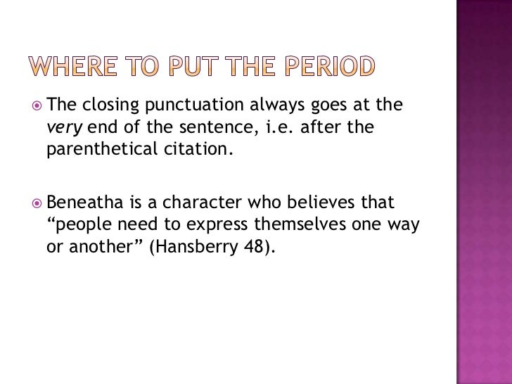 How to cite a quotation