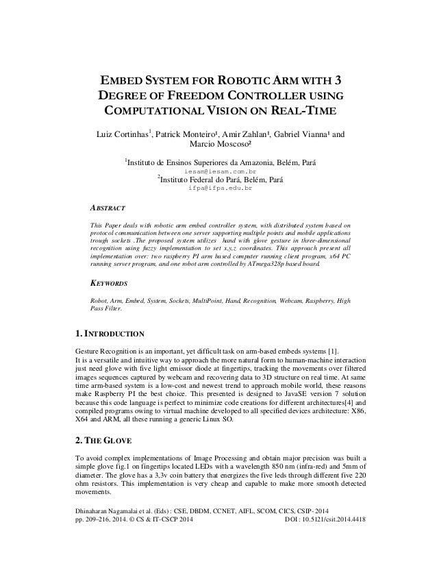 Dhinaharan Nagamalai et al. (Eds) : CSE, DBDM, CCNET, AIFL, SCOM, CICS, CSIP- 2014 pp. 209–216, 2014. © CS & IT-CSCP 2014 ...