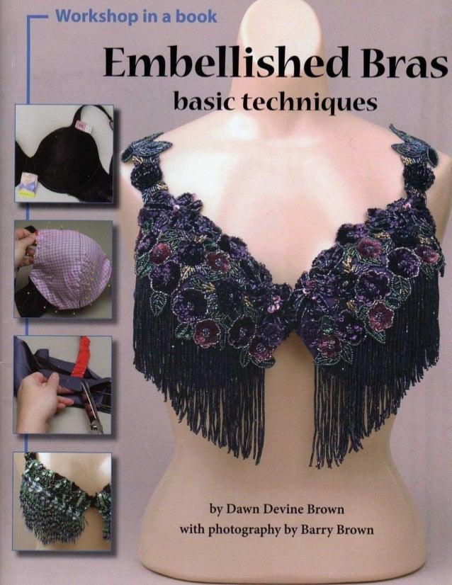 Embellished bras basic techniques