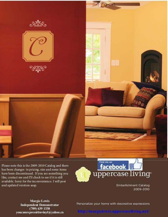 Embellishment catalog Uppercase Living (2009)