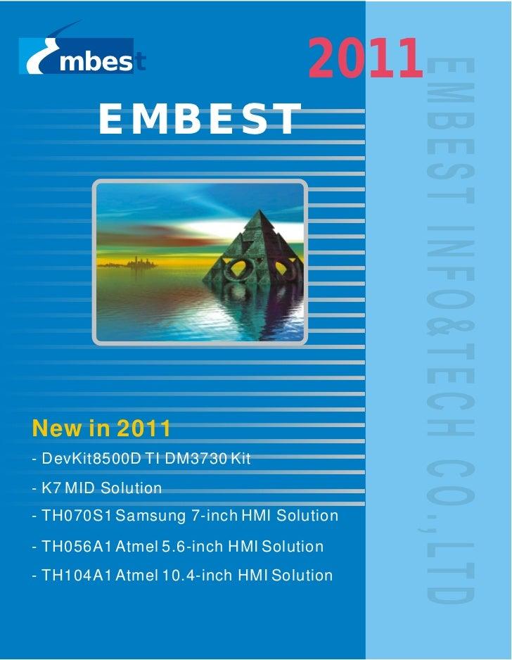 mbest                          2011        EMBESTNew in 2011- DevKit8500D TI DM3730 Kit- K7 MID Solution- TH070S1 Samsung ...