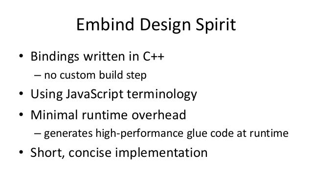 Connecting C And Javascript On The Web With Embind