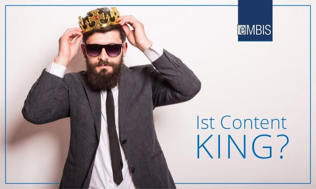 Ist Content KING?