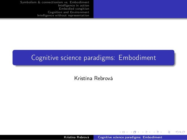 Intro to CogSci: Embodiment 1