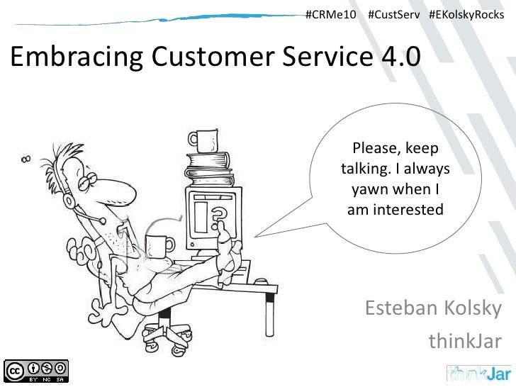 Embracing customer service 4.0