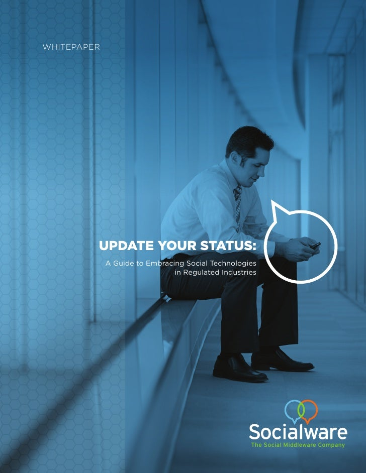 UPDATE YOUR STATUS:                       The Social Middleware Company
