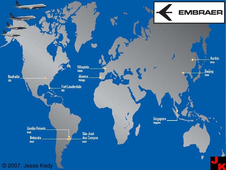 Embraer: Global Strategy
