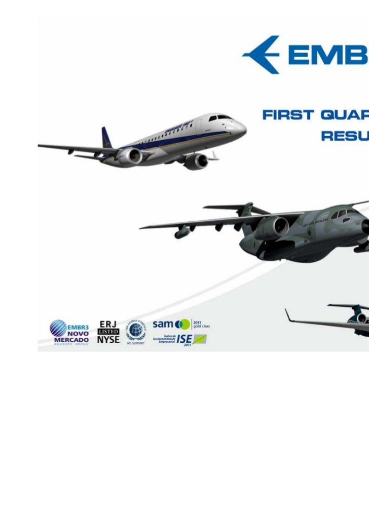 Embraer 1Q11 Results