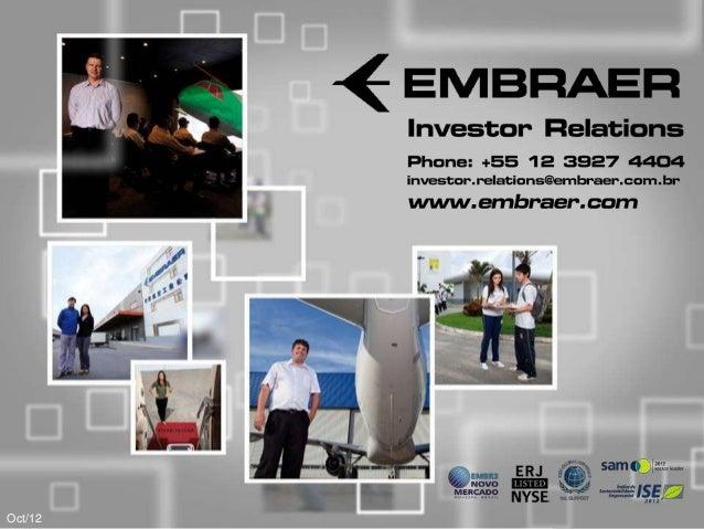 Investor Relations                                                                              Phone: +55 12 3927 4404   ...