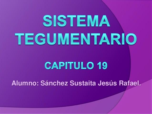 Alumno: Sánchez Sustaita Jesús Rafael.