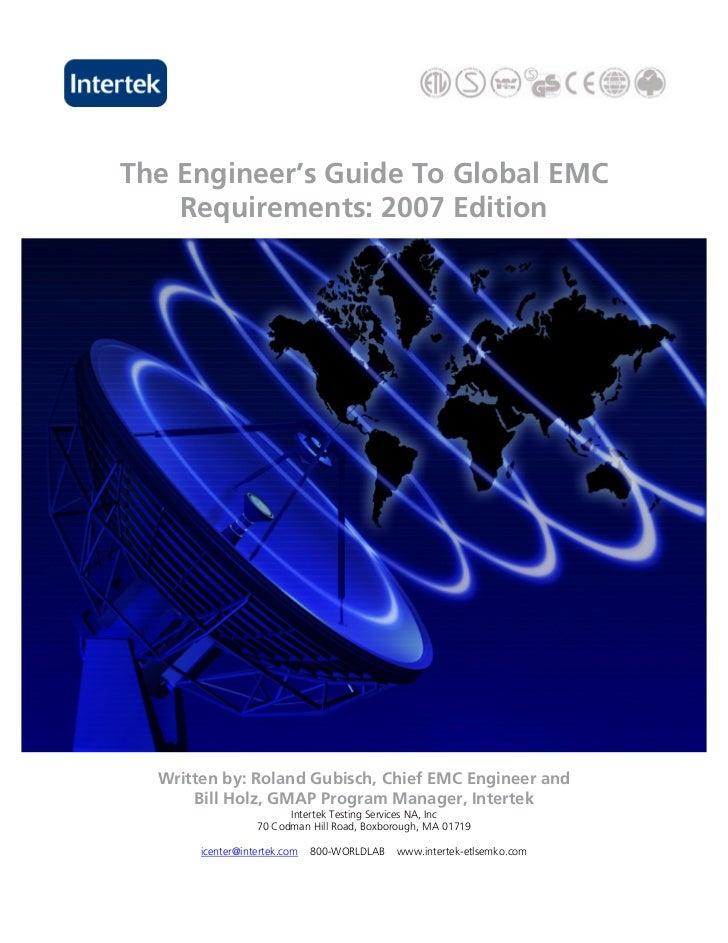 EMC Testing brochure