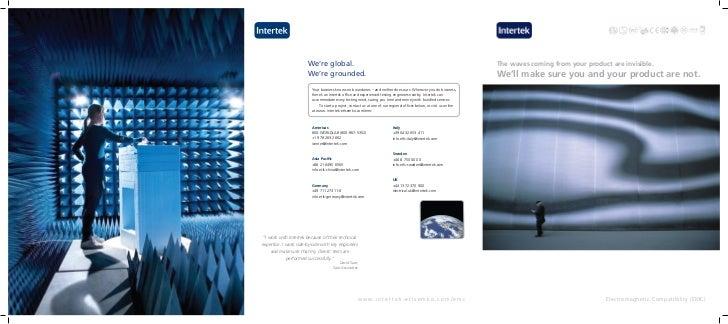 Emc testing-brochure