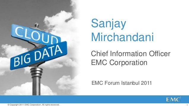 Emc - Cloud Vision and Strategy