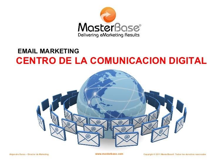 CENTRO DE LA COMUNICACION DIGITAL EMAIL MARKETING