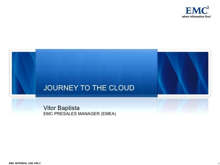 Emc journey to the cloud v2