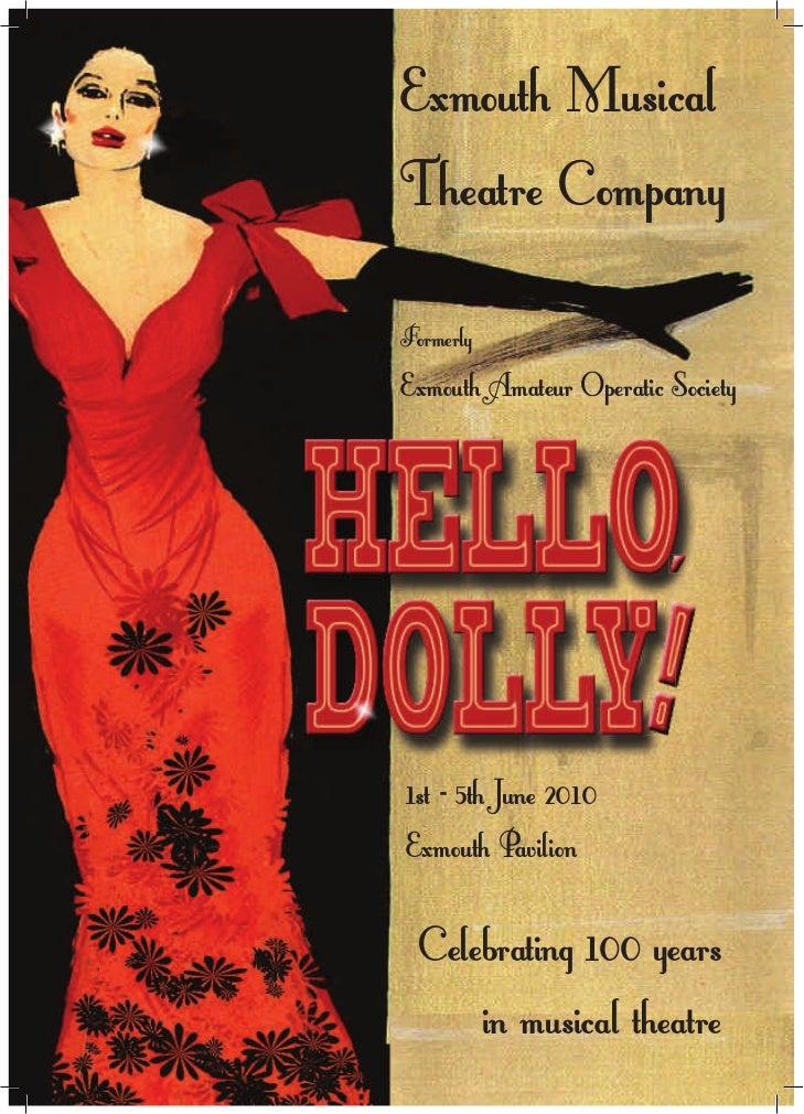 Hello Dolly - Programme EMCo