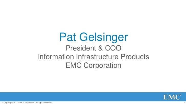 Emc world 2011 gelsinger finalb