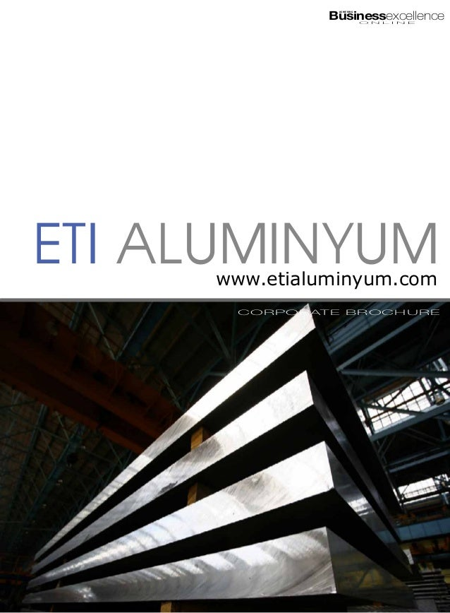 Businessexcellence                      ACHIEVING                                  O N L I N EEti Aluminyum     www.etialu...