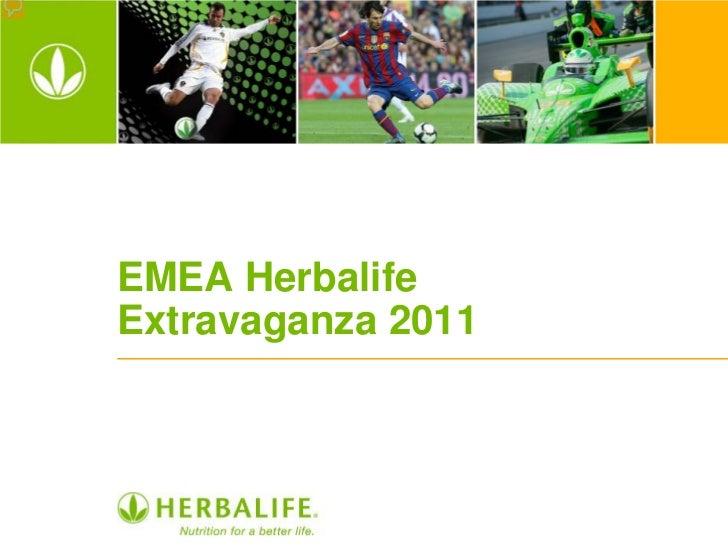 EMEA HerbalifeExtravaganza 2011