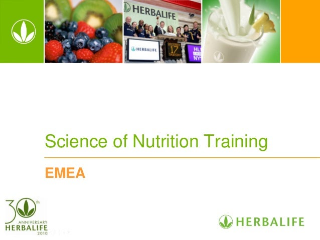 Science of Nutrition Training EMEA