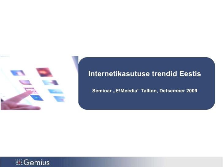 E!Meedia   Toomas Tepomes - 16.12.09