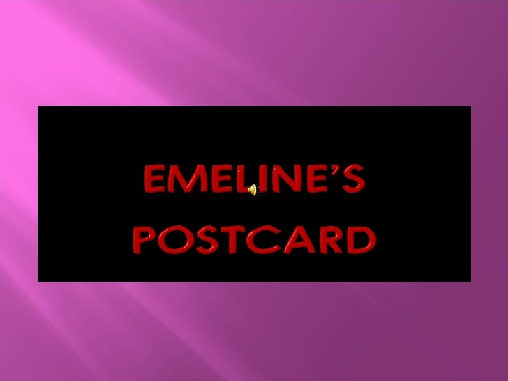 Emeline's Postcard
