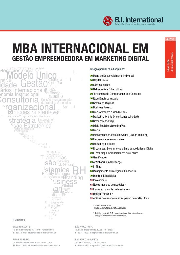 432h/aMBA INTERNACIONAL EM                                                                                                ...