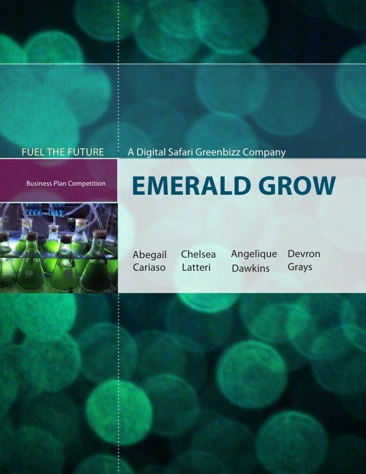 Emerald Grow Business Plan