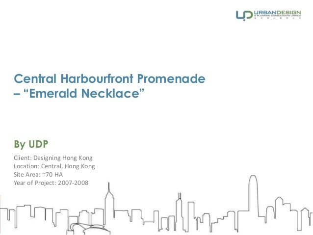 """Central Harbourfront Promenade – """"Emerald Necklace"""""""
